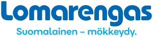 lomarengas logo läpinäkyvällä taustalla, suomalainen - mökkeydy